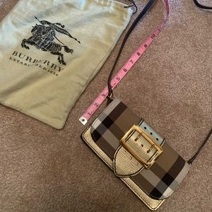 Burberry buckle crossbody